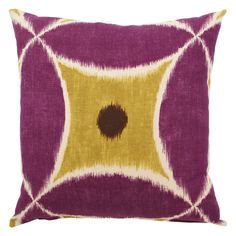 Accent Pillows |  throw pillow from pillows by dezign. Looks great on any sofa!