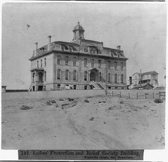 Ladies' Protection and Relief Society Bldg., Franklin St., San Francisco, 1866