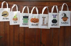 GroopDealz | Personalized Halloween Trick or Treat Bags 14 options