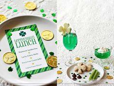 Leprechaun Lunch- so fun!