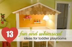 13 Fun and Practical Toddler Play Room Ideas