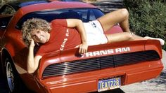 Sammy Hager on a Trans Am.. righteous level off the charts!
