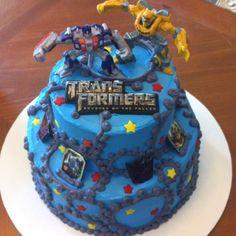 transformer cake that transforms