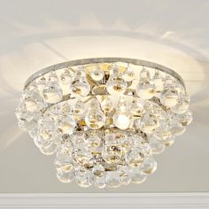 Deco Glam Ceiling Light- entry