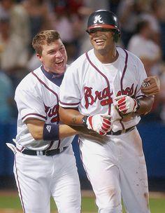 Chipper Jones and Andruw Jones - 2004