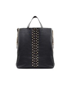 STUDDED SHOPPER - Handbags - Woman - New collection - ZARA United States