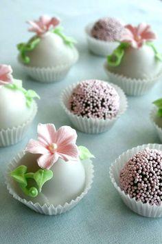 Pretty pink treats