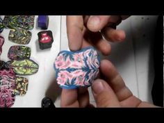 Tutorial for Polymer Clay designs out of old canes or scrap clay. FIMO technique
