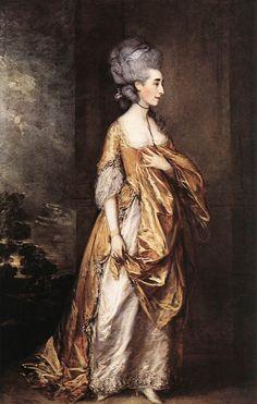 Mrs. Grace Dalrymple Elliott (Thomas Gainsborough)