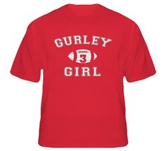 Gurley Girl Todd Gurley Georgia Bulldogs T Shirt