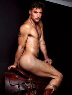 Benjamin Godfre sexy cowboy