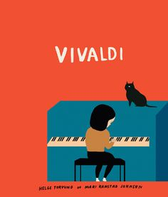 Illustration for childrens book, VIVALDI  by Mari Kanstad Johnsen