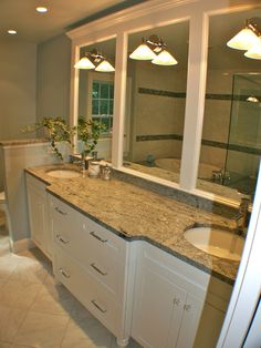 CROWN MOLDING TRI-MIRRORSeparate Toilet Design, Pictures, Remodel, Decor and Ideas - page 26