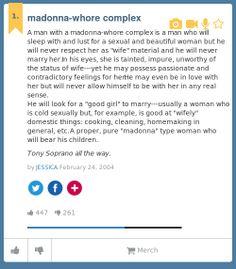 Madonna–whore complex