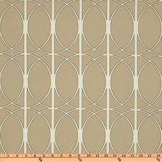 Richloom Solarium Outdoor Maxfield Sand - Discount Designer Fabric - Fabric.com