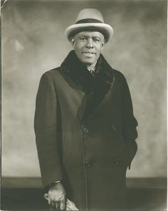 Roland Hayes, the brilliant tenor who became the first African-American man to earn international fame as a concert vocalist, photographed by Addison Scurlock in 1940. Born to former slaves in Curryville, Georgia in 1887