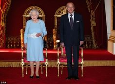 It's hard to believe the Queen is 87 and Prince Philip is 92: both looked on fine form today at Buckingham Palace.