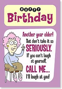 Birthday Card For Aunt Funny