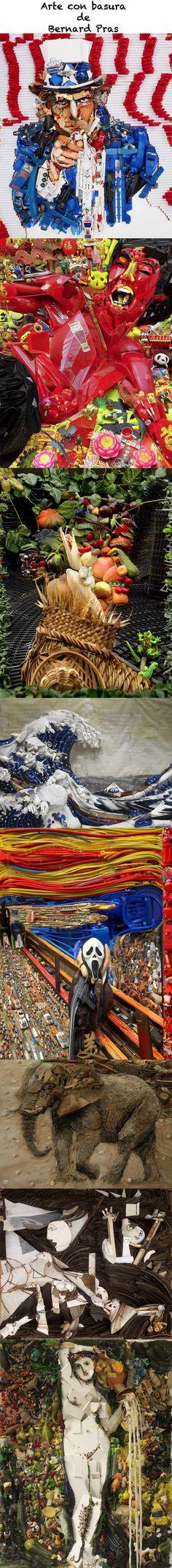 El Arte con Basura de Bernard Pras