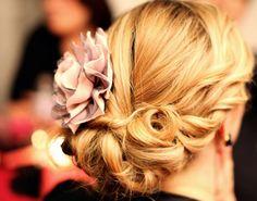 hair flowers, hairstyles, weddings, wedding updo, curl, prom hair, wedding hairs, bridal hair, flower hair