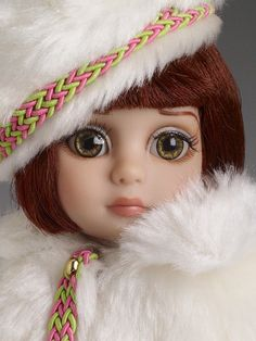 Furry Flurries - Outfit Only - #closeup Patsy Collection $89.99 #pinned from our 2013 #FallRelease #dollchat ^kv