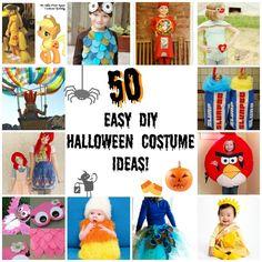 50 DIY Easy Halloween Costumes for Kids