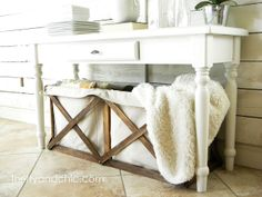 DIY: Pottery Barn Wood and Canvas Crate Copy Tutorial