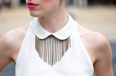 DIY ACCESSORY INSPO | Chain Drop Necklace