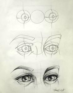Eye Drawing Tips