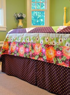 Sew your own bedskirt