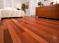 One of the most dense & durable species available, Brazilian Redwood Hardwood distinguishes itself with a breathtaking blend of deep reds & golden browns.