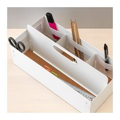 KVISSLE Desk organizer IKEA Helps you keep everything from pens and stationery to USB sticks and chargers organized.