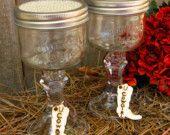 Mason jar wine glasses