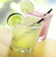 Skinny Margarita with Agave!
