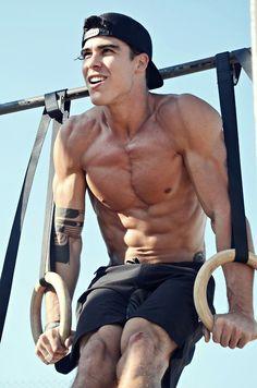 fit, bodi, bodybuild, guy, gay, abdomin magnific, deportista, hot, damn