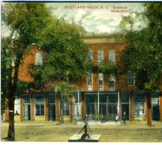 Scotland Neck, N.C., Scotland Neck Hotel :: North Carolina Postcards