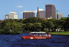 Duck tours- a Boston must do
