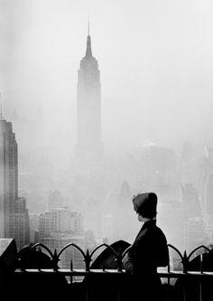 Elliott Erwitt, New York, 1955.