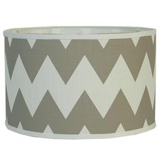 """16"""" Euro Fitter Chevron Drum Shade - 4 Colors!"""