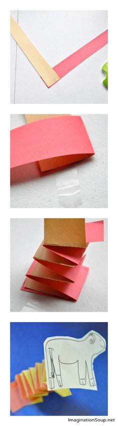 Easy Kid Writing Idea: Pop-Up Books
