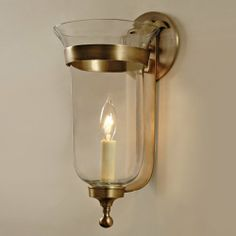 JVI Designs 1001-10-Star Small Bell Jar Wall Sconce