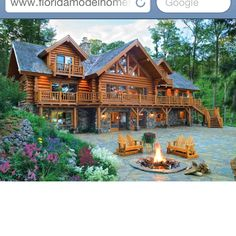 Love this log cabin!!!