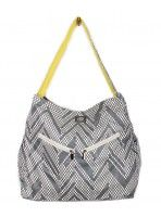 Pre-Black Friday PINTEREST SALE! Use coupon code PINTERESTLOVE at www.bellatunno.com (11/26 - 11/29) Shift Sack Bag - Grey Chevron Hobo!