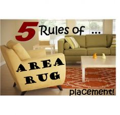 Area Rug Placement on Pinterest   Rug Size Guide, Rug Size ...