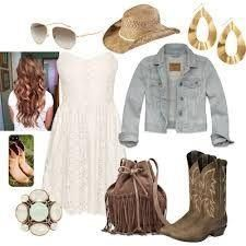 Rodeo outfit.<3