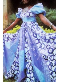 African attire summer gown