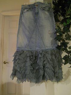 #  jean skirt #2dayslook #jean style #jeanfashionskirt  www.2dayslook.com  Jeans Skirt #2dayslook #sunayildirim #JeansSkirt  www.2dayslook.com