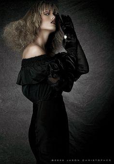#Black Lace High Fashion