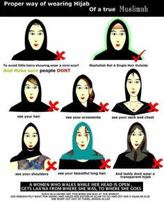 how to wear the Hijab (do's & don'ts) hijab fashion, hearthijab remind, fashion islam, hijab dos, islam muslimah, hijabs, wwwhearthijabcom modesti, modesti hijab
