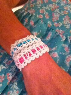 Rainbow loom bottom side up